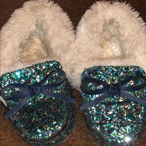 Other - Glitter Moccasins